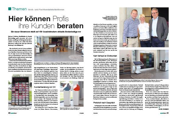 Artikel über Casa Vova Showroom in der eurodecor